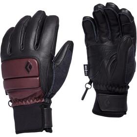 Black Diamond Spark Handsker Damer, sort/rød